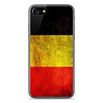 1001 Coques Coque silicone gel Apple IPhone 8 motif Drapeau Belgique