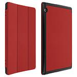 Avizar Etui folio Rouge pour Huawei Mediapad T5 10''
