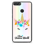 1001 Coques Coque silicone gel Huawei P Smart motif Unicorn World