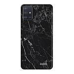 EVETANE Coque Samsung Galaxy A51 5G 360 intégrale transparente Marbre noir