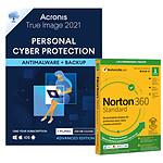 Pack Acronis True Image Advanced 250 Go + Norton 360 Standard - Licence 1 an - 1 appareil - A télécharger