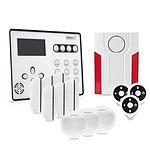 Atlantic'S ATEOS - Alarme de maison sans fil GSM Kit 5 (MD-334R)