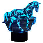 Yonis Lampe LED 3D Noir Y-10871