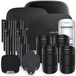 Alarme maison Ajax StarterKit noir - Kit 12