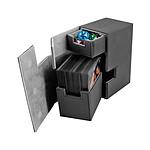 Ultimate Guard - Boîte pour cartes Flip'n'Tray Deck Case 80+ taille standard XenoSkin Noir