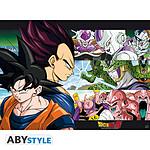 Dragon Ball Z - Poster Z Sangoku Et Ennemis (52 X 38 Cm)