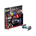 Star Wars - Maquette 1/121 Model Set Darth Vader's TIE Fighter 7 cm