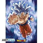 Dragon Ball -  Super Poster Goku Ultra Instinct (52 X 38 Cm)