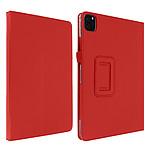 Avizar Etui folio Rouge pour Apple iPad Pro 11 2020 , Apple iPad Pro 11 2018 , Apple iPad Air 2020 , Apple iPad Pro 11 2021