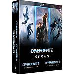 Coffret Trilogie Divergente : Divergente  L'insurrection  Au-delà Du Mur [Blu-Ray]