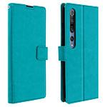 Avizar Etui folio Bleu pour Xiaomi Mi 10 , Xiaomi Mi 10 Pro