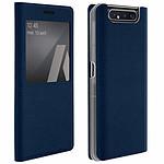 Avizar Etui folio Bleu Nuit pour Samsung Galaxy A80