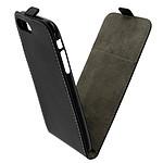 Avizar Etui à clapet vertical Noir pour Apple iPhone 7 Plus , Apple iPhone 8 Plus