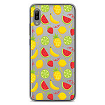 1001 Coques Coque silicone gel Huawei Y6 2019 motif Fruits tropicaux