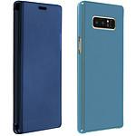 Avizar Etui folio Bleu pour Samsung Galaxy Note 8