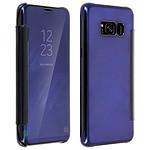 Avizar Etui folio Bleu Nuit pour Samsung Galaxy S8 Plus