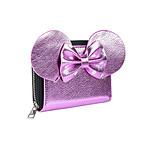 Disney - Porte-monnaie ou étui à cartes de visite Pink Minnie