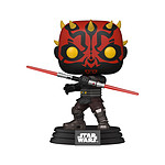 Star Wars : Clone Wars - Figurine POP! Darth Maul 9 cm