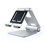 SATECHI  Support mobile ajustable tablette Silver