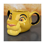 Le Roi lion - Mug Shaped Simba