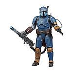 Star Wars The Mandalorian - Figurine Black Series Deluxe Heavy Infantry Mandalorian Exclusive 1