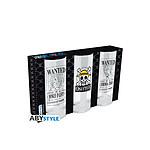 One Piece - Set de 3 verres