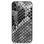1001 Coques Coque silicone gel Apple iPhone 11 Pro motif Texture Python