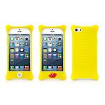 BONE  Coque en silicone BUBBLE iPhone 5  Jaune