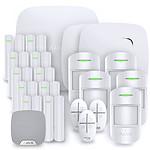 Alarme maison Ajax StarterKit Plus blanc - Kit 8