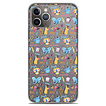 1001 Coques Coque silicone gel Apple iPhone 11 Pro motif Happy animals