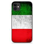 1001 Coques Coque silicone gel Apple iPhone 11 motif Drapeau Italie