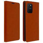 Avizar Etui folio Camel pour Samsung Galaxy S10 Lite
