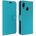 Avizar Etui folio Turquoise pour Huawei P20 Lite