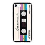 LA COQUE FRANCAISE Coque iPhone 7/8/ iPhone SE 2020 360 intégrale transparente Cassette Vintage Evasion Tendance