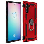 Avizar Coque Rouge Bi-matières pour Samsung Galaxy Note 10