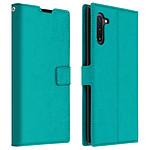Avizar Etui folio Turquoise pour Samsung Galaxy Note 10