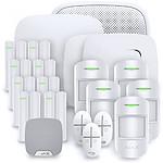 Alarme maison Ajax StarterKit Plus blanc - Kit 9