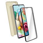 Avizar Coque Dorée pour Samsung Galaxy A71