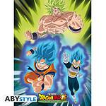 Dragon Ball -  Super Broly Poster Broly Vs Goku & Vegeta (52 X 38 Cm)