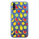 1001 Coques Coque silicone gel Samsung Galaxy A01 motif Fruits tropicaux