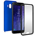 Avizar Coque Bleu pour Samsung Galaxy J4