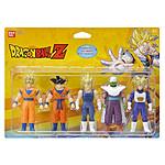 Dragon ball - Figurine Pack de 5 s DBZ héros 10cm