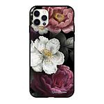 LA COQUE FRANCAISE Coque iPhone 12/12 Pro Silicone Liquide Douce Fleurs roses