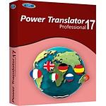 Power Translator 17 Professional - Licence perpétuelle - 1 poste - A télécharger