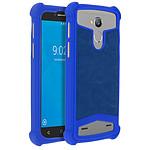 Avizar Coque Bleu pour Smartphones de 4.3' à 4.7'