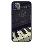 1001 Coques Coque silicone gel Apple iPhone 11 Pro Max motif Old piano
