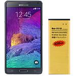 Avizar Batterie Dorée pour Samsung Galaxy Note 4