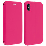 Avizar Etui folio Fuchsia pour Apple iPhone XS Max