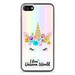 1001 Coques Coque silicone gel Apple IPhone 8 motif Unicorn World
