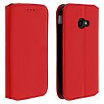 Avizar Etui folio Rouge pour Samsung Galaxy Xcover 4 , Samsung Galaxy Xcover 4s